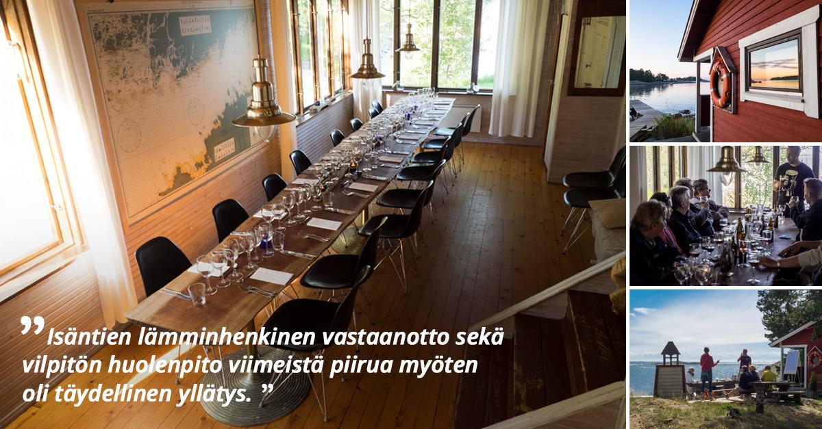 Herrö - Varaa kokouksiin, virkistyspäiviin ja juhliin Venuu.fi:stä