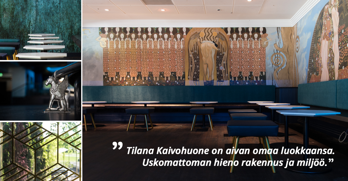 Yritys- ja yksityistilaisuudet Kaivohuoneella - Venuu.fi