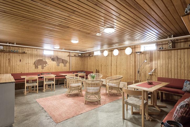 Rauhanaseman tupa ja sauna - tilaussauna / Venuu.fi