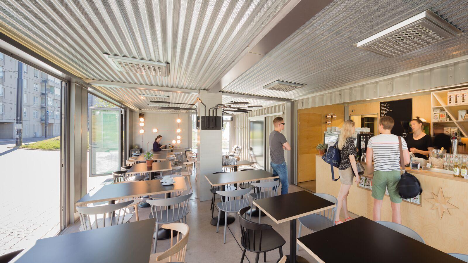 Cargo Coffee - hääpaikka / Venuu.fi