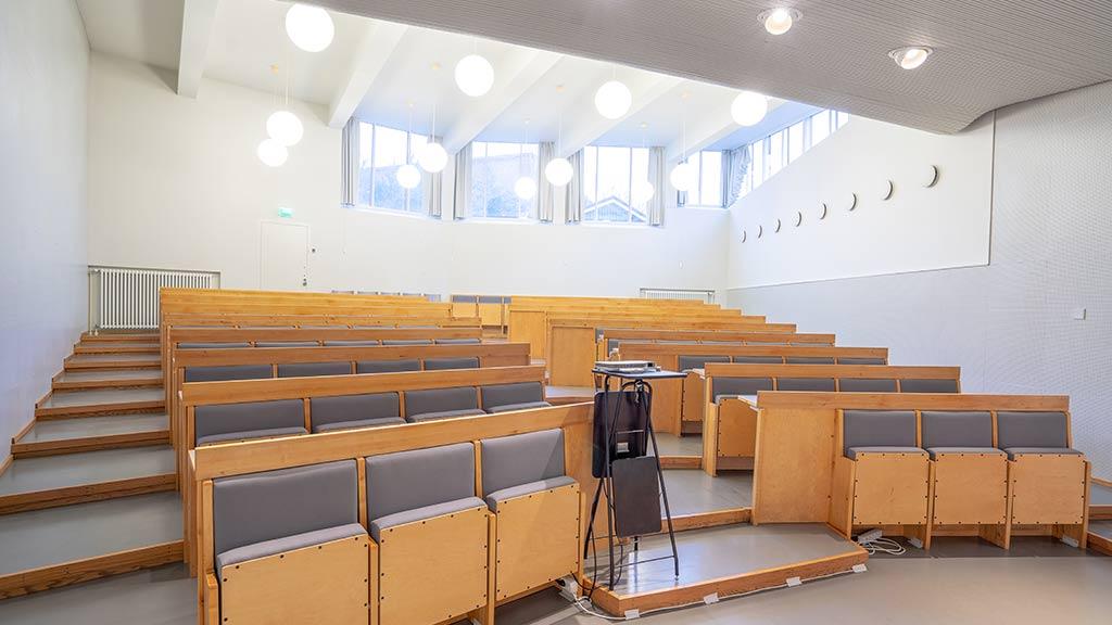 Kulttuuritalo / Alvar-auditorio kokoustila Venuu.fi