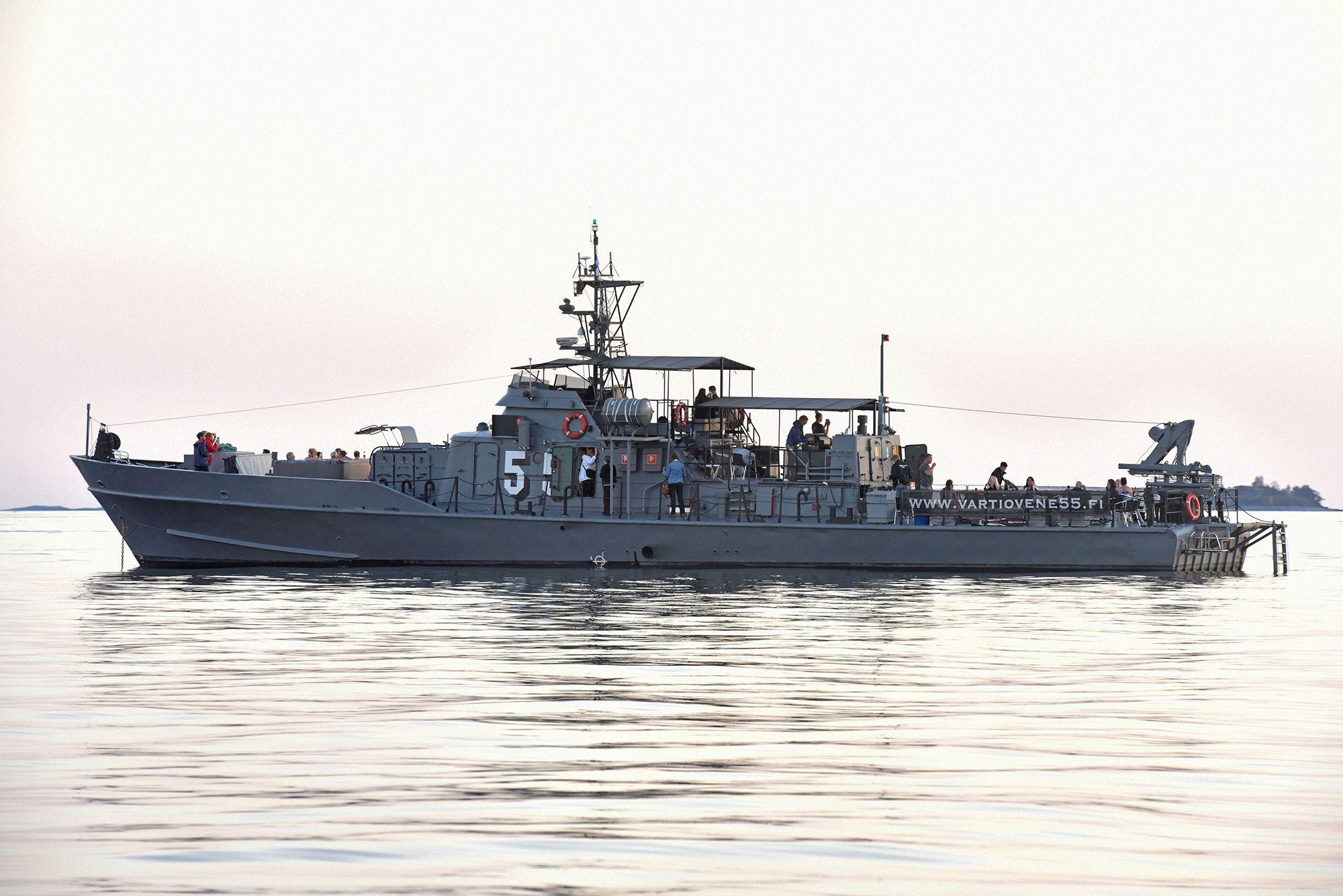Vartiovene 55 - laivat ja veneet juhliin / Venuu.fi