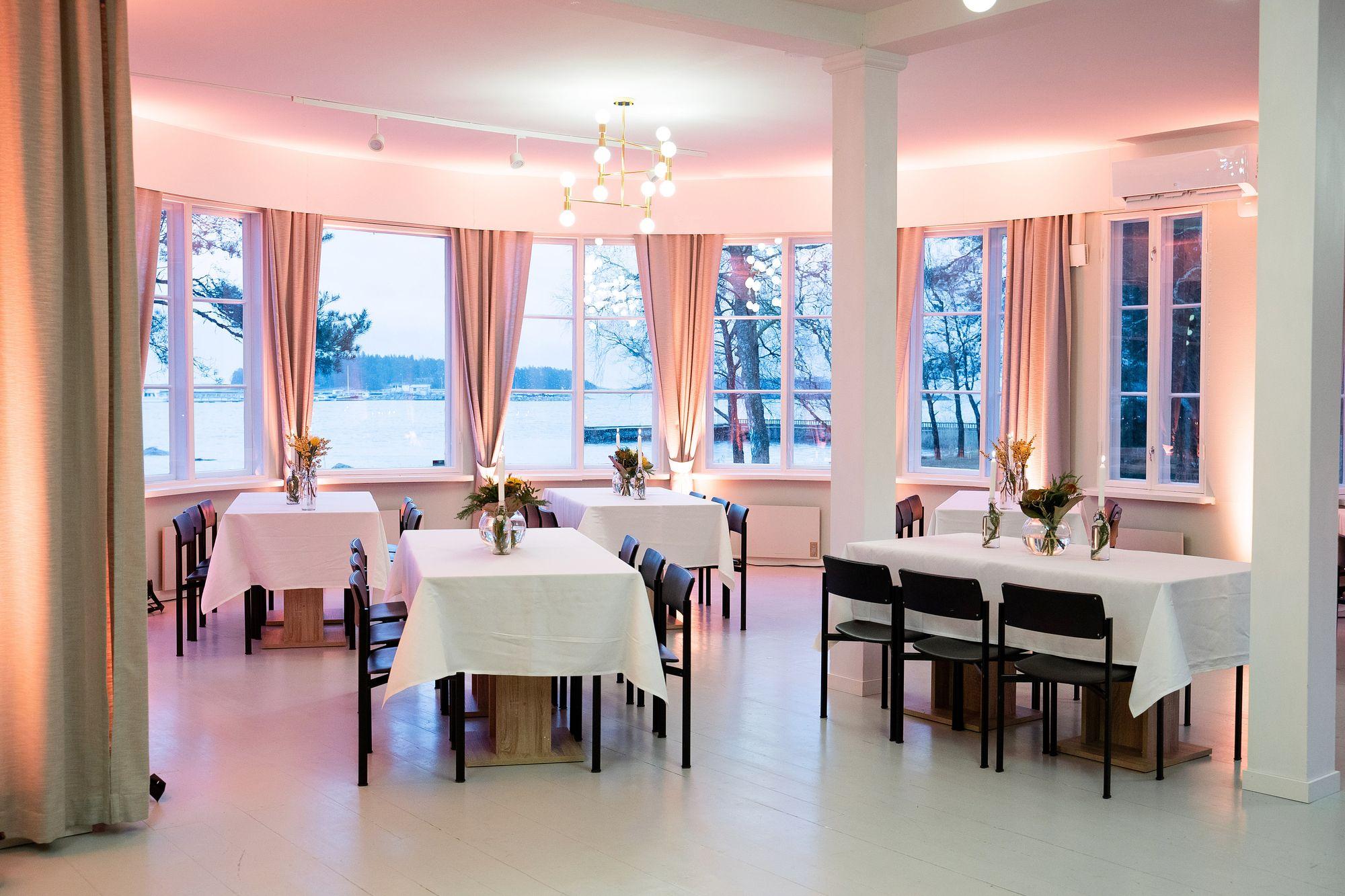 Villa Ivan Falin - tila rapujuhliin / Venuu.fi