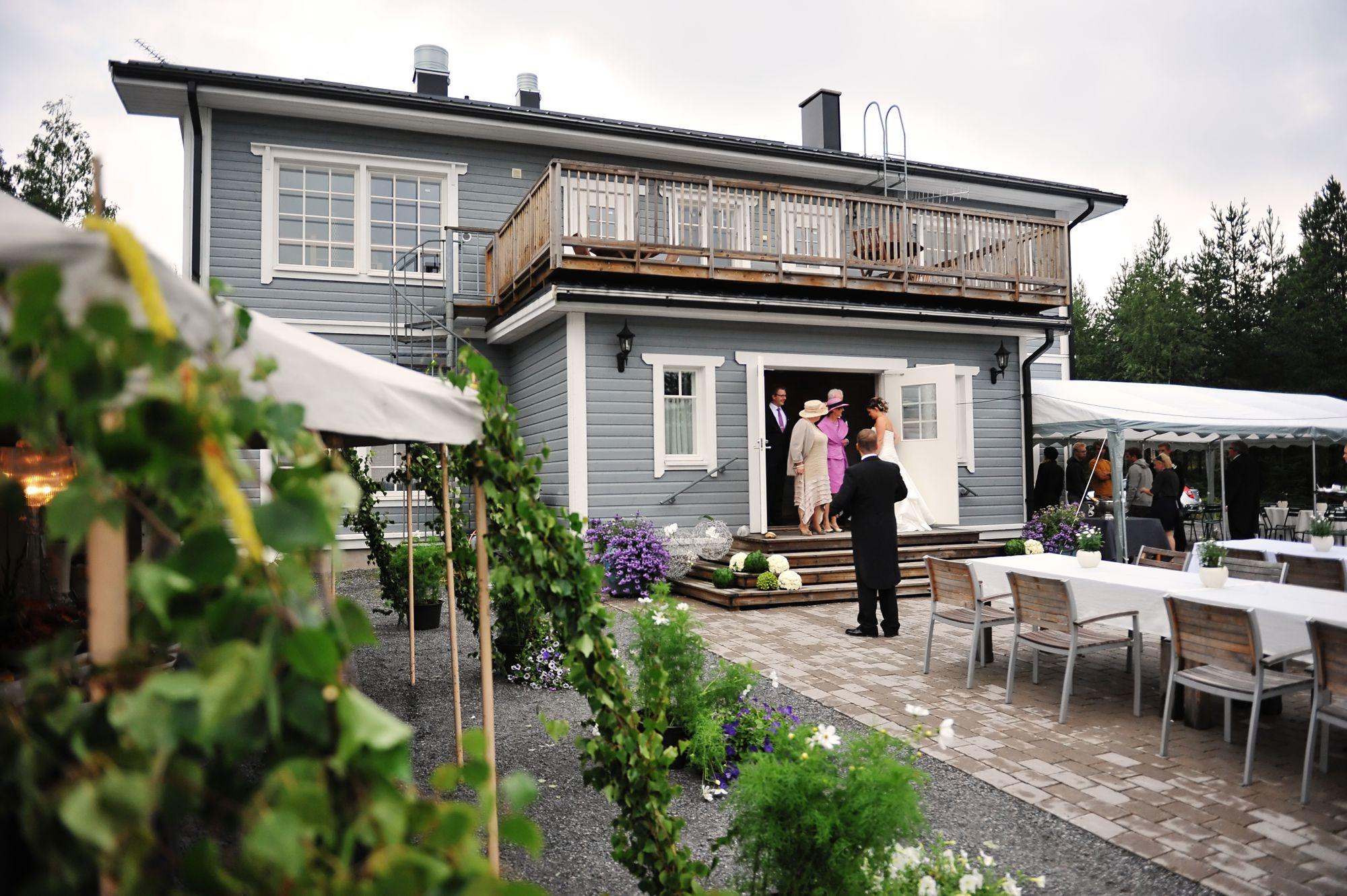 Villa Meri - tila rapujuhliin / Venuu.fi