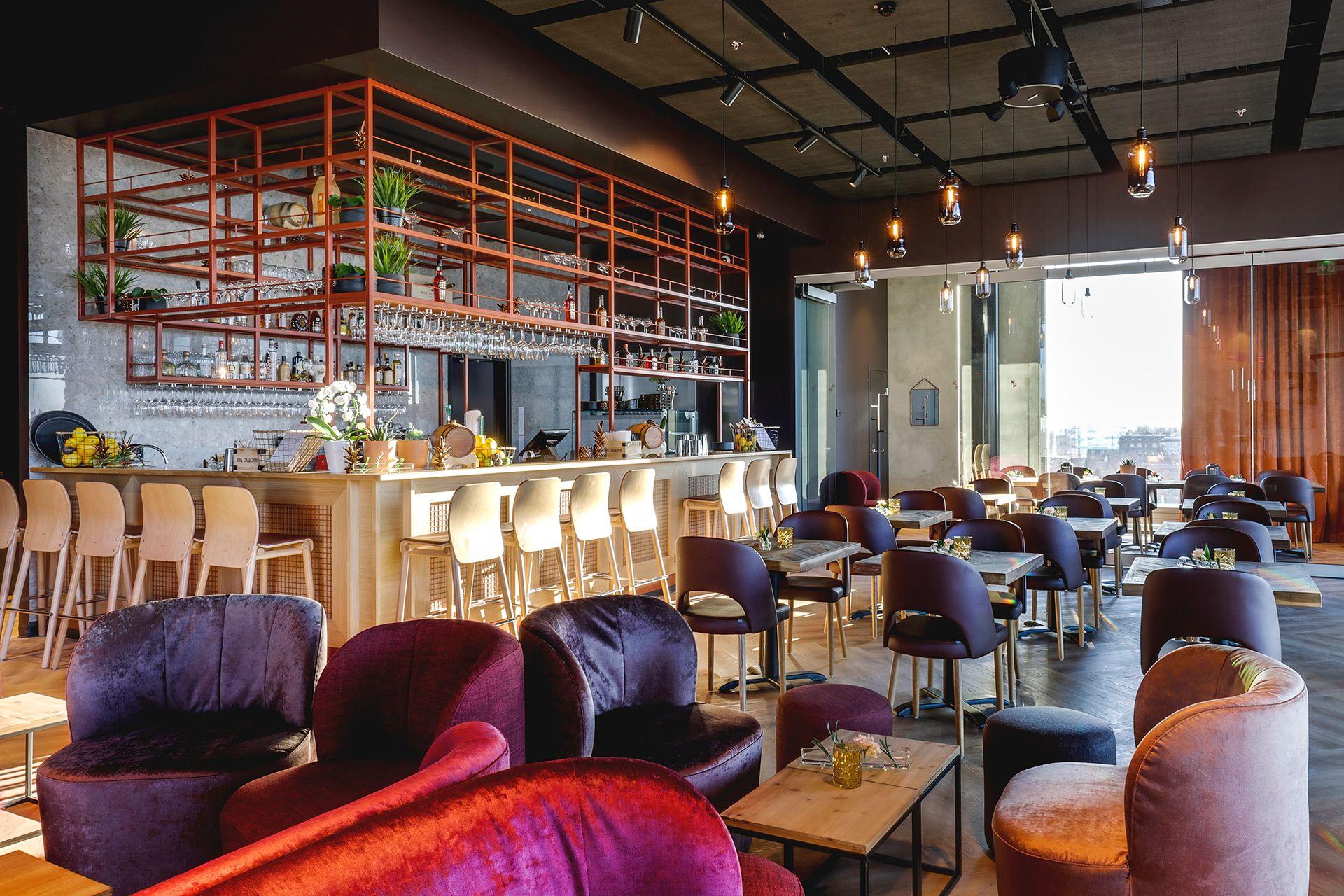 Ravintola Periscope / Lounge Bar - tila virkistyspäivään / Venuu.fi