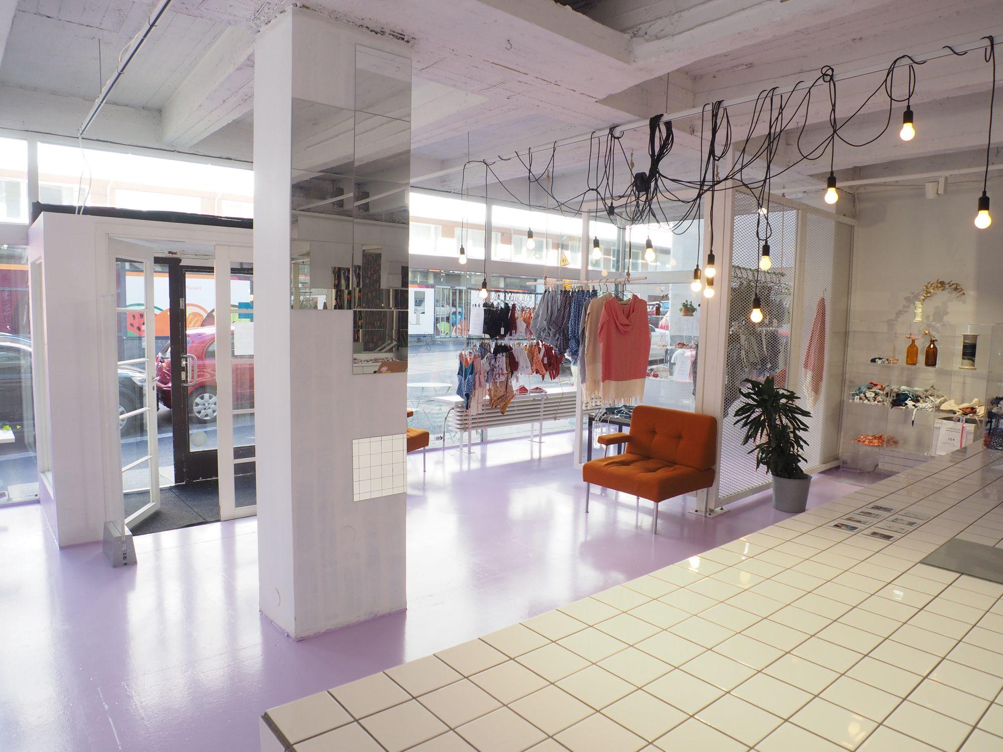 Palms & Berries / katutaso - tila tuotelanseeraukseen, mediatilaisuuteen ja PR-tapahtumaan / Venuu.fi