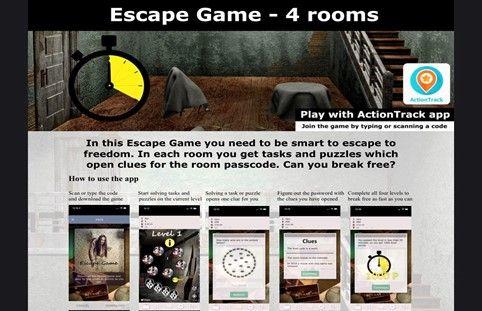 Escape Room Virtual -etäpakohuonepeli verkossa ryhmille / Venuu.fi
